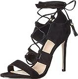 Aldo Women's Marys Dress Sandal, Black Nubuck, 9 B US