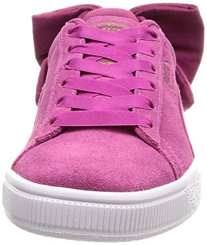 Haze Rose Wn's Suede Basses magenta Haze Femme Sneakers Puma 03 Bow magenta wUvCqvB