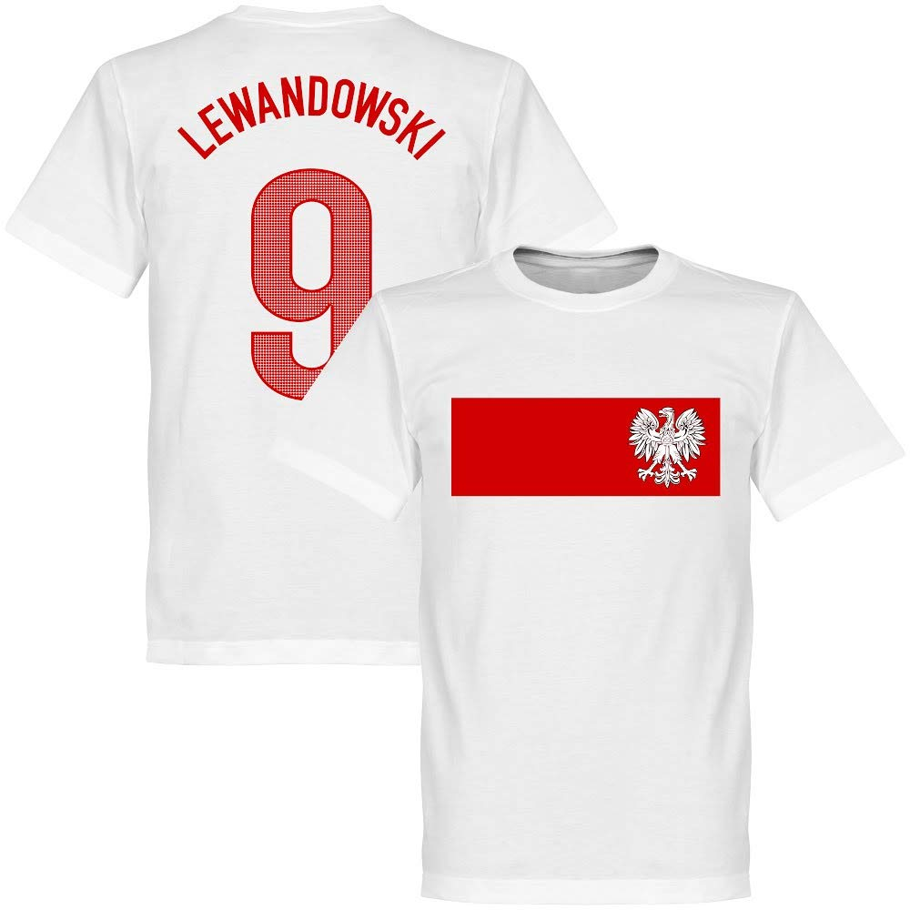Polen Lewandowski Banner T-Shirt