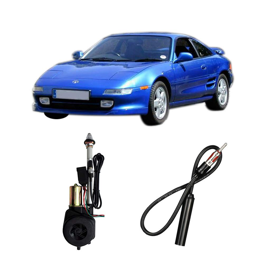Compatible with Toyota MR2 1991-1995 Factory OEM Replacement Radio Stereo Powered Antenna Mast by Harmony Audio