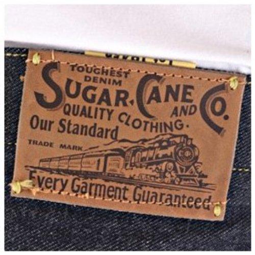Sugar Cane Herren Jeanshose blau blau