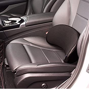 Amazon.com: ROHUA Lumbar Support Cushion,Universal for Car,Black ...