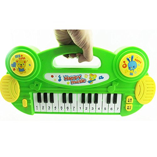 Bovillo Multi-function Electronic Organ Toy Light Music Intelligent Toy Piano by Bovillo