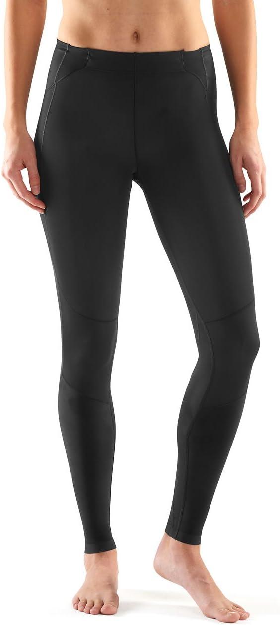WOSAWE Jupe de Cyclisme avec Leggings de Compression pour Femme