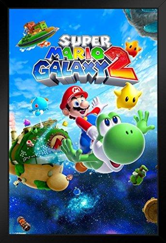 Pyramid America Super Mario Galaxy 2 Video Game Framed Po...