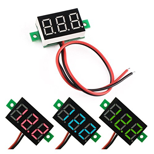 HUAHA Digital VoltMeter Voltmeter 4 5V 30 0V