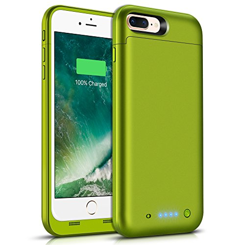 Battery Case for iPhone 8 Plus 7 Plus, Taeozi 7000mAh Portable Protective Charging Case for iPhone 7 Plus / 8 Plus 5.5