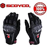 Scoyco MC09 Bike Riding Gloves Set of 2-Black