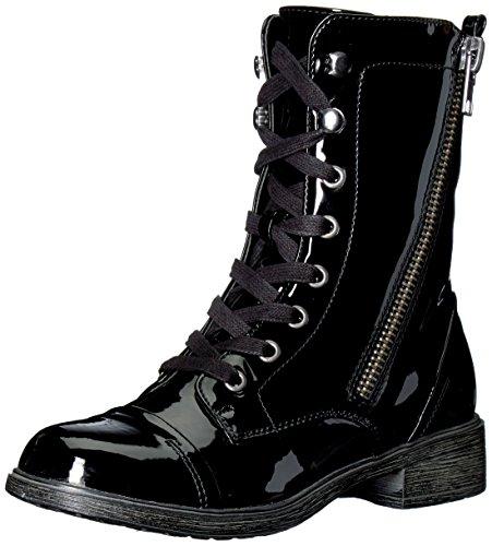 Report Women's Hahn Fashion Boot, Black Patent, 7.5 Medium US
