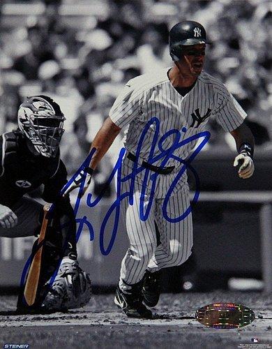 (Tino Martinez Autographed 4x5 Photo - Authentic Signature)