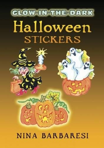 Glow-in-the-Dark Halloween Stickers (Dover Little Activity Books Stickers)]()