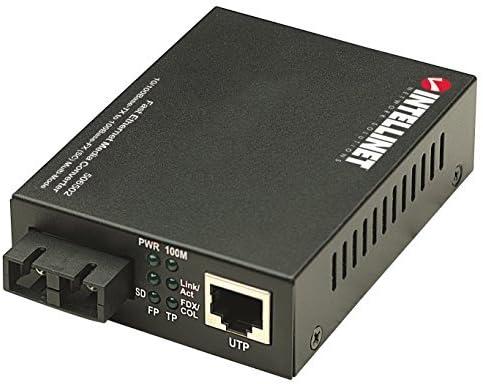 X 4.90In X 2.10In. Intellinet Sc 2Km Ethernet Convertr 9.30In