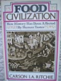 Food in Civilization, Carson I. Ritchie, 0825300371
