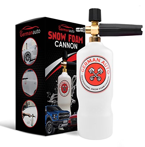 """Professional Snow Foam Cannon Adjustable Lance Pressure Washer Jet Wash with 1/4"""" Quick Connector"""