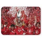 European Champions Liverpool FC - Mouse Mat Art247 Highest Quality Natural Rubber Mouse Mats - Mouse Mat