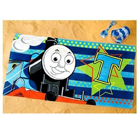 Thomas y sus amigos - toalla de baño, toalla de playa, toalla de mano: Amazon.es: Juguetes y juegos