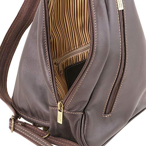 98140966 Foncé Dos Sac En Hanoi Tuscany Marron À Cuir Leather pPTxq446