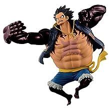 Banpresto - Figurine One Piece - Monkey D. Luffy Gear Fourth Scultures 16cm - 3296580836123