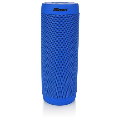2BOOM Mini Bluetooth Portable Wireless Water Resistant Speaker with