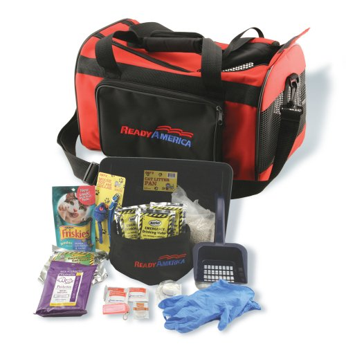 Ready America 77100 Cat Evacuation - Pet Survival Kit