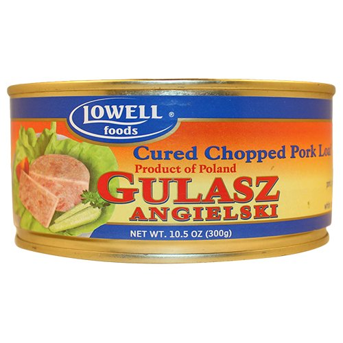 Lowell Foods Cured Chopped Pork Loaf 300g (Pack of 3)