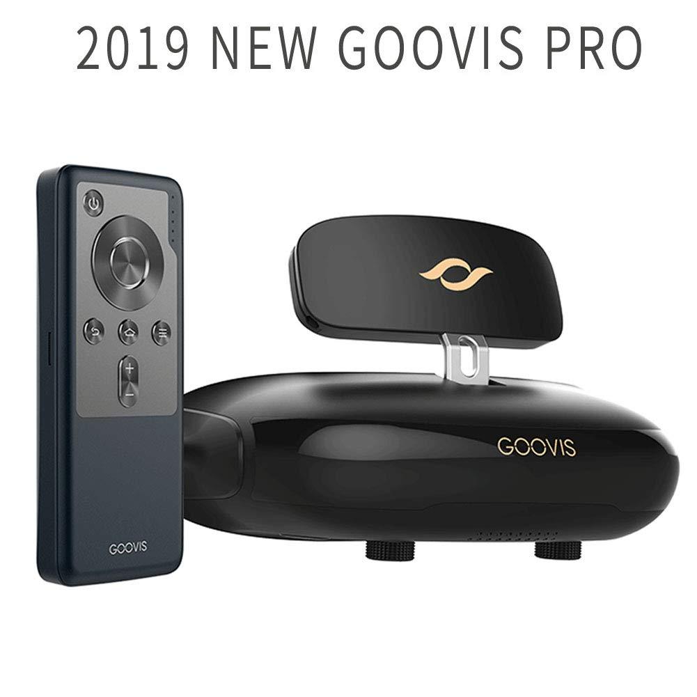 GOOVIS Pro VR ゴーグル 3Dメガネ VRヘッドセッ ブルーレイプレーヤーをサポート ソニーM-OLED 1920 x 1080 x 2 HDスクリーン4K VRメガネFPVセットトップボックスDJIドローンPS4 Xbox PCニンテンドーiPhoneサムスンスマートフォン product image