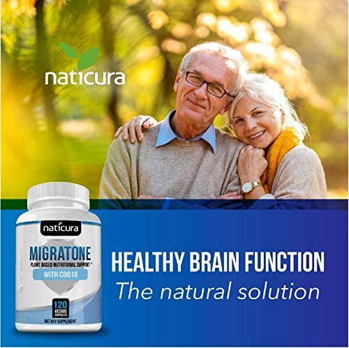 Migraine Defense Headache Relief Supplement – Neurologist Recommended to Help Prevent Pain, Nausea…