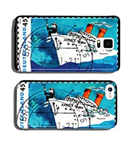 Postage stamp Germany 2010 Andrea Doria, by Udo Lindenberg cell phone cover case Samsung S4