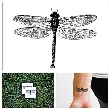 Tatuaje Temporal Tattify - Libélula - Bicho volador (Juego de 2 ...