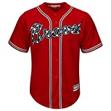 Freddie Freeman Atlanta Braves #5 Youth Cool Base Stitched Alternate Jersey Red