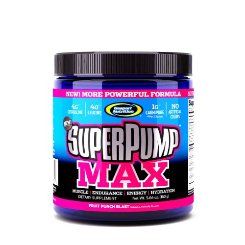 SuperPump Max Fruit Punch souffle - 5,64 oz (160 g) - Poudre