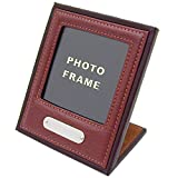 Personalised Leather Desk Photo Frame