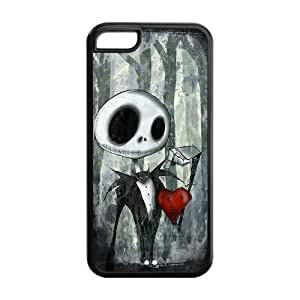 Case for iPhone 5C,Cover for iPhone 5C,iPhone 5C case,Hard Case for iPhone 5c,The Nightmare Before Christmas Design TPU Screen Protector Hard Case for Apple iPhone 5c