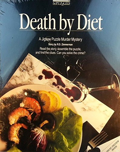 Murder Mystery Jigsaw Puzzle - Death By Diet by Bepuzzled Bepuzzled Jigsaw Puzzles