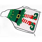Christmas Funny flirty Apron, Cute Adjustable Kitchen Chef Bib BBQ Cooking Aprons for Women