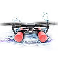 STARTRC Landing Gear Bracket Protector Heighten Buoyancy Waterproof Protecting for DJI Mavic Pro Platinum on Snow or Water for Shooting over Swimming Pool, River, Lake, Ocean or More
