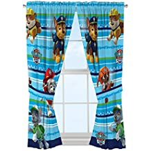 PAW Patrol Puppy Fun Window Drapes
