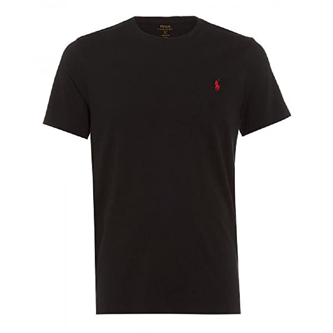 Polo Ralph Lauren C9642 Nero Camiseta Hombre Negro L: Amazon.es ...
