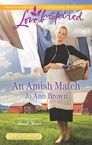book cover of An Amish Match