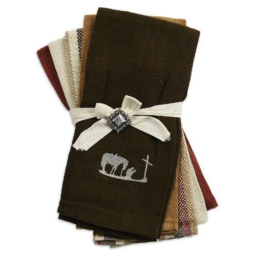 M F Western Products Cowboy Kitchen Tea Towel Set