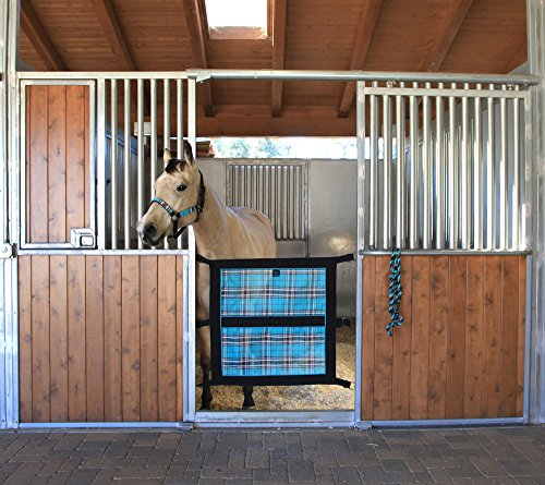 Kensington Door Guard for Horses — Designed to Keep Horse Securely in Stall in Style — Adjustable Straps and Hardware Included by Kensington (Image #2)