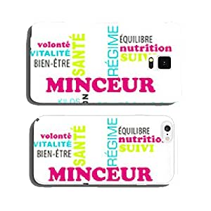 Cloud of words on the topic: slimming and diet cell phone cover case Samsung S5