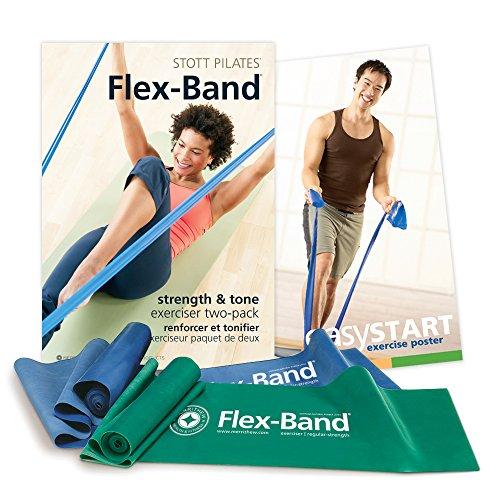 STOTT PILATES ST02033 Flex Band Two Pack