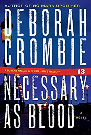 book cover of Necessary as Blood