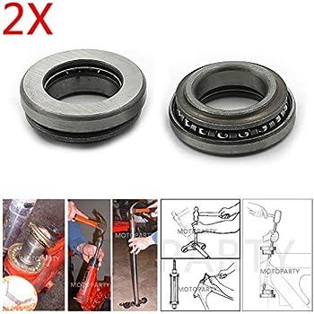 Baosity Metal Steering Fork Bearing Set for Honda CRF//XR50 CT70 CT90 Z50 Mini Trail