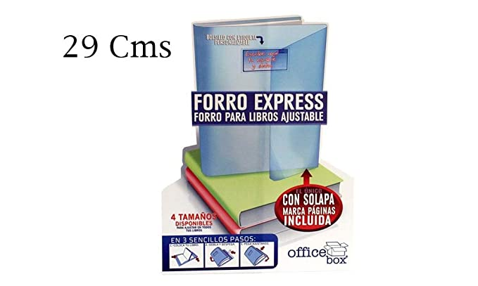 Office Box Lote 10 Forros Express Ajustables Transparentes ...