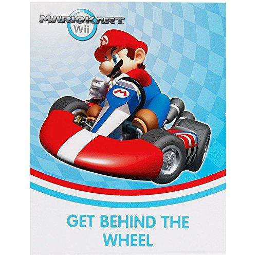 Birthday Express Mario Kart Wii Invitations (Mario Invites)