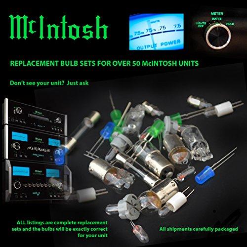 Price comparison product image McIntosh MX114 complete 6pc replacement bulb set