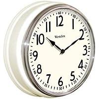 WESTCLOX Vintage Kitchen Wall Clock 12 / 32041AW /