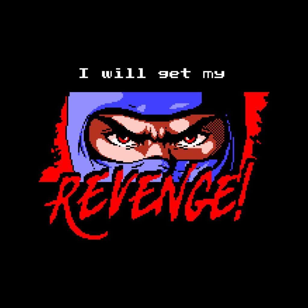 Cloud City 7 I Will Get My Revenge Retro Ninja Gaiden Mens ...